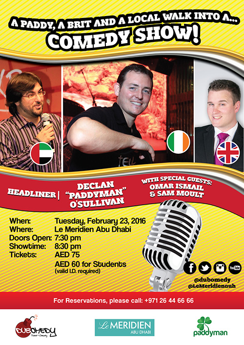 "Comedy Night with Declan ""Paddyman"""